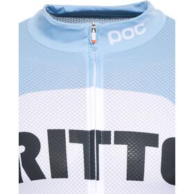 POC Raceday Climber Ritte Fietsshirt korte mouwen Heren wit